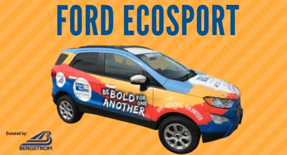 BERGSTROM AUTOMOTIVE SPONSORS NEW SWEEPSTAKES CAR FOR OSHKOSH AREA UNITED WAY